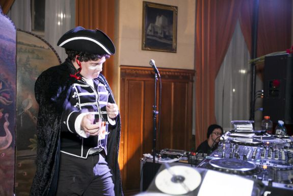 DJ Eric J Lawrence by Brenda Janairo