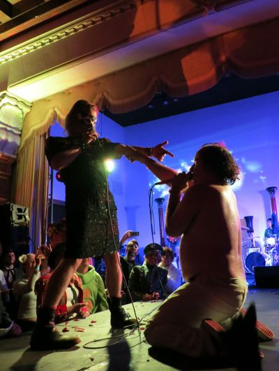 KCRW's Masquerade 2013 at the Legendary Park Plaza - October 26,
