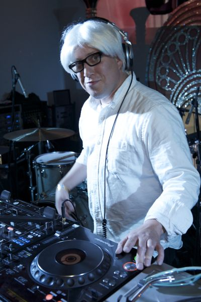 DJ Mario Cotto by Gary Leonard