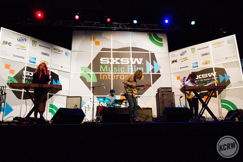 Tennis takes the stage at KCRW's Official SXSW Showcase