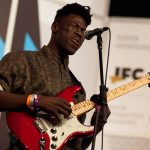 Moses Sumney impresses with his crooning falsetto
