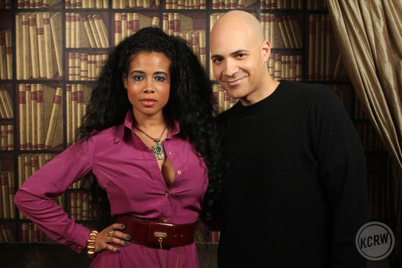 Kelis with Garth Trinidad by Jeremiah Garcia