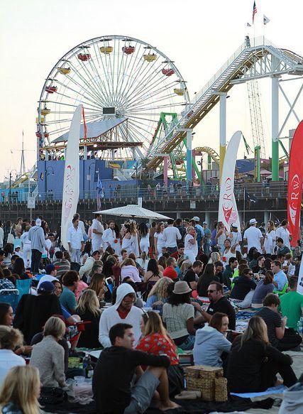 Santa Monica Pier Jeremiah Garcia
