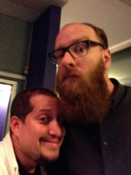 BLURRY but great. A non-bearded Mario Cotto and a very bearded Linus