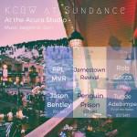 KCRW at Sundance
