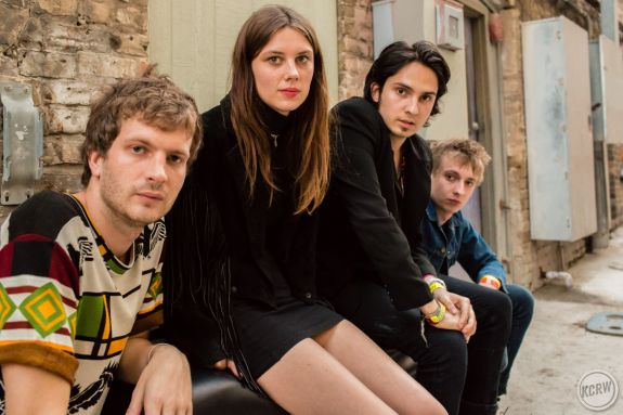 Wolf Alice alley portrait by Dustin Downing