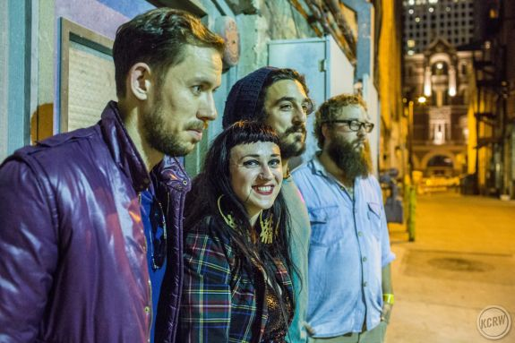 same alley, with Hiatus Kaiyote. by Dustin Downing
