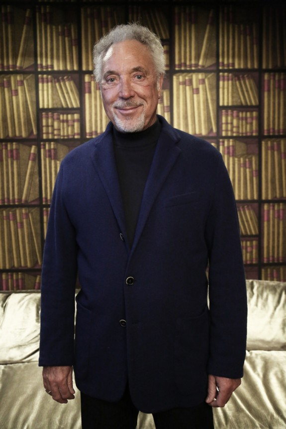 The legendary Tom Jones