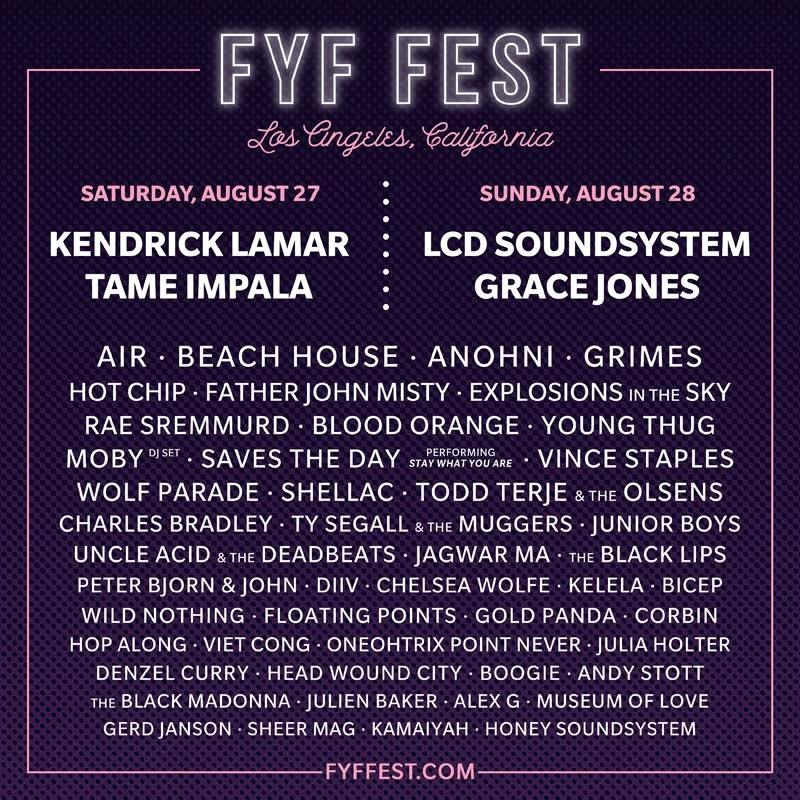 FYF fest final
