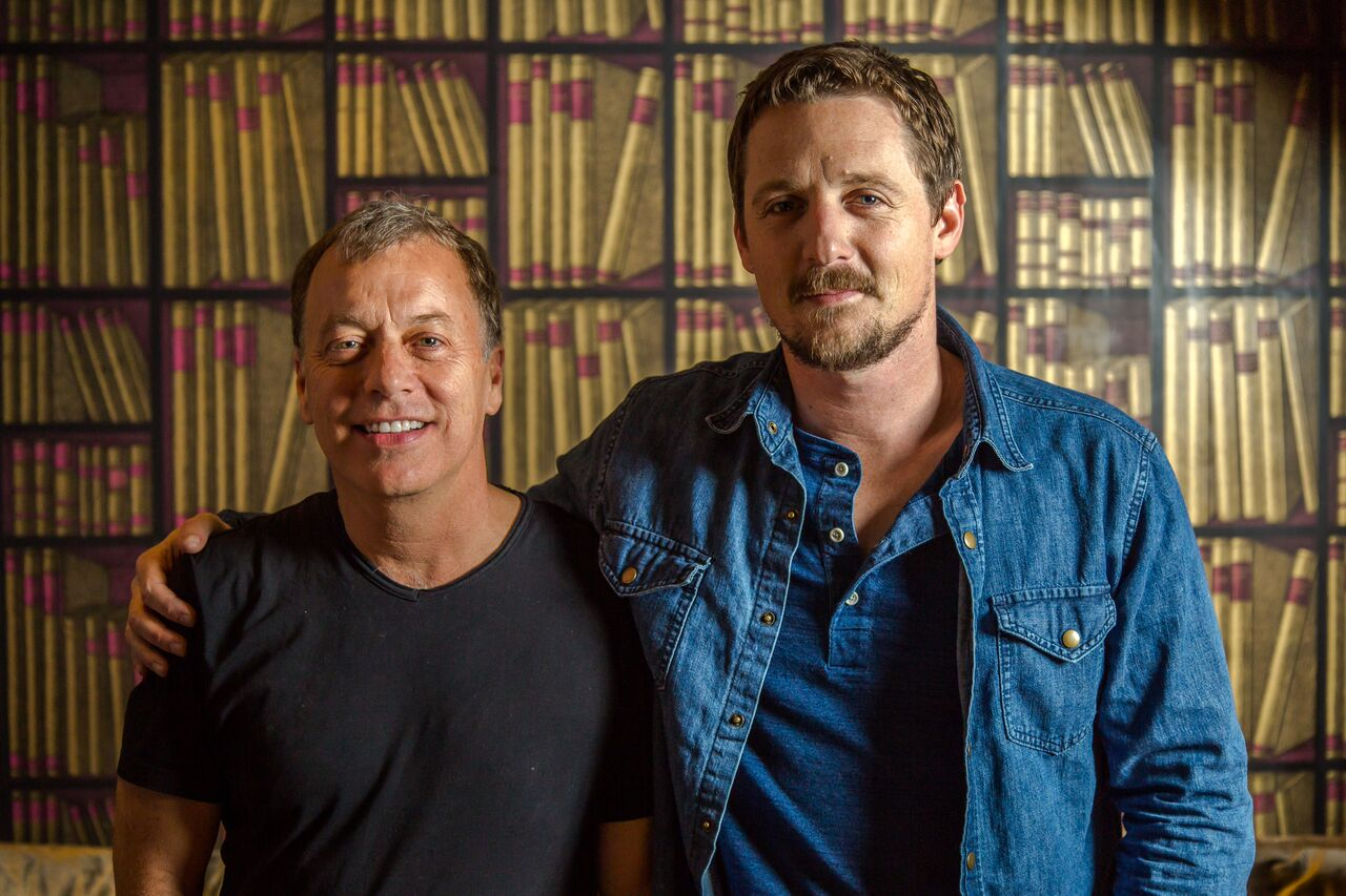 Chris Douridas & Sturgill Simpson, brothers from another mother