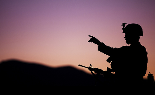 Rehearsing for war: Marines of America's Battalion train for Afghan battlefield