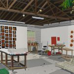 """BBall Studio"" / Courtesy of David Kordansky Gallery, Los Angeles, CA"