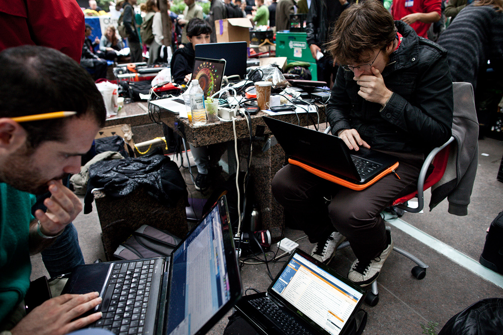 Occupy Wall Street Hacks