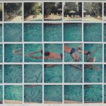 NATHAN SWIMMING LOS ANGELES MARCH 11TH 1982, by David Hockney
