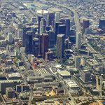 An aerial view of Los Angeles, by KLA4067 via Flickr/CC