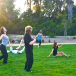 Why drive when you can Butoh in the meadow at Silver Lake?