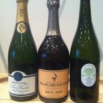 Three bubblies recommended by Randy--one from...the land of Enchantment, aka New Mexico