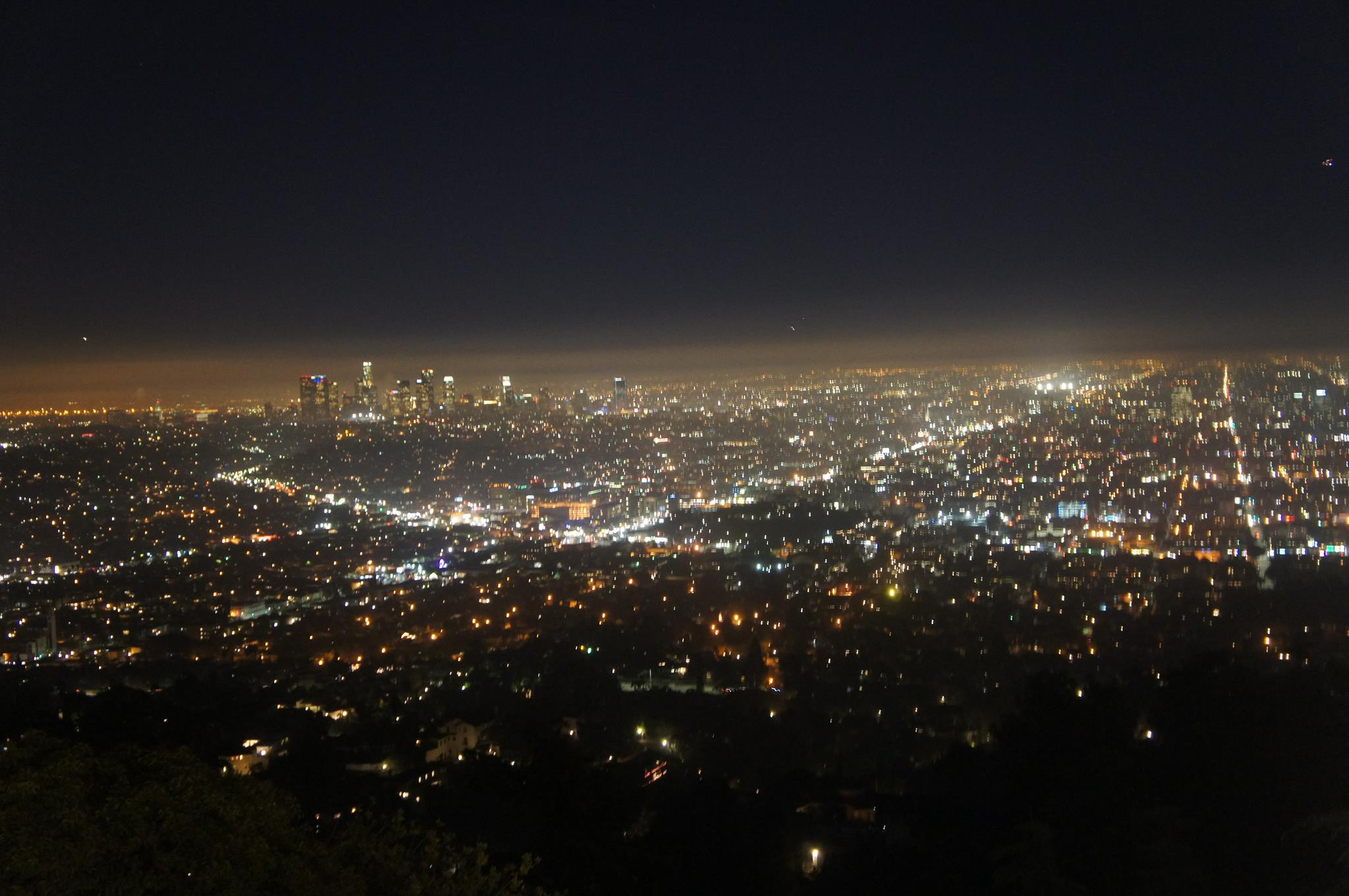 City lights versus starry skies for the curious for In the city of la