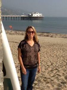 The Surfrider Foundation&#039;s Nancy Hastings at Malibu Surfrider Beach
