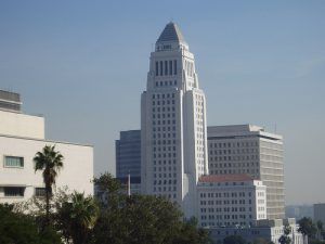 Los Angeles City Hall. By stevecadman/ Flickr