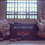 &quot;Walking Dead&quot; Advertisement In Toronto&#039;s Union Station