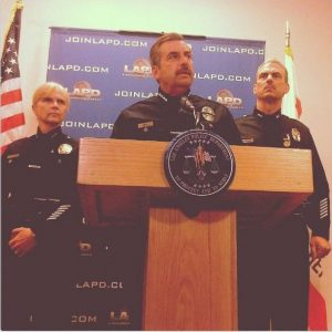 LAPD Chief Charlie Beck. Photo by Avishay Artsy