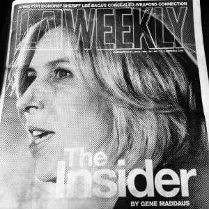 Wendy Greuel makes the cover of the LA Weekly