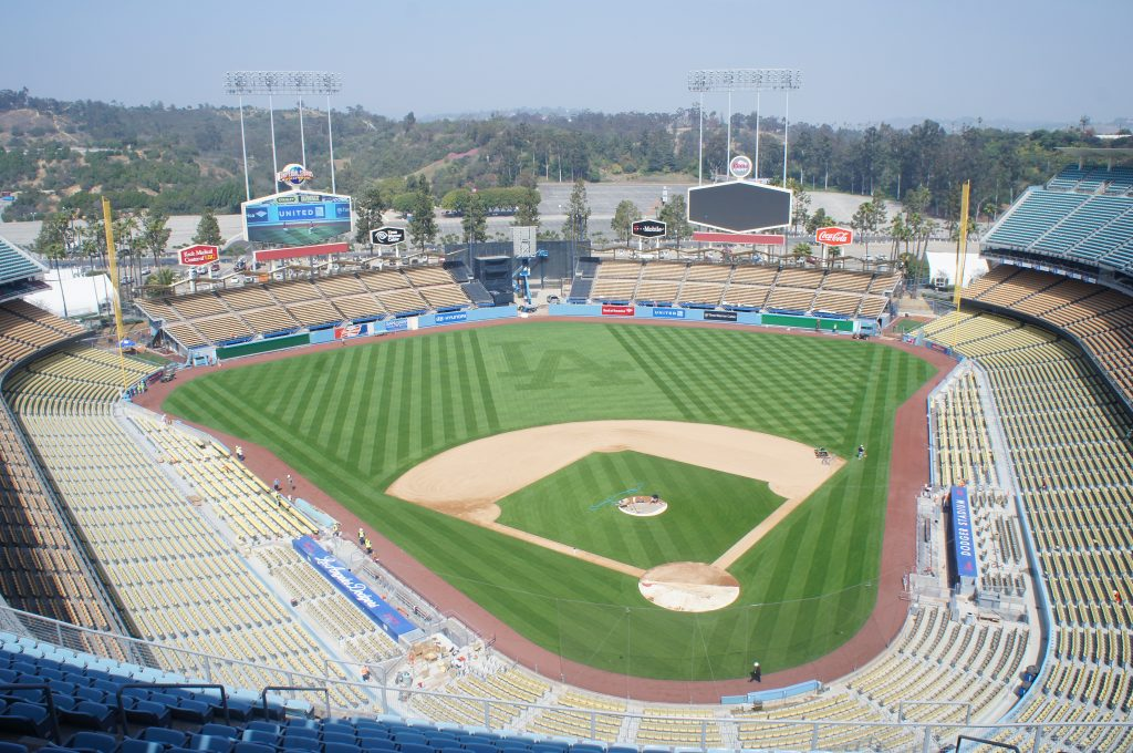 "Opened in 1962, Dodger Stadium, has a ""retro-coo"" feel, but it's the third oldest ballpark in Major League Baseball. The Dodgers new owners have sunk upwards of a $100 million dollars into the stadium's renovation."