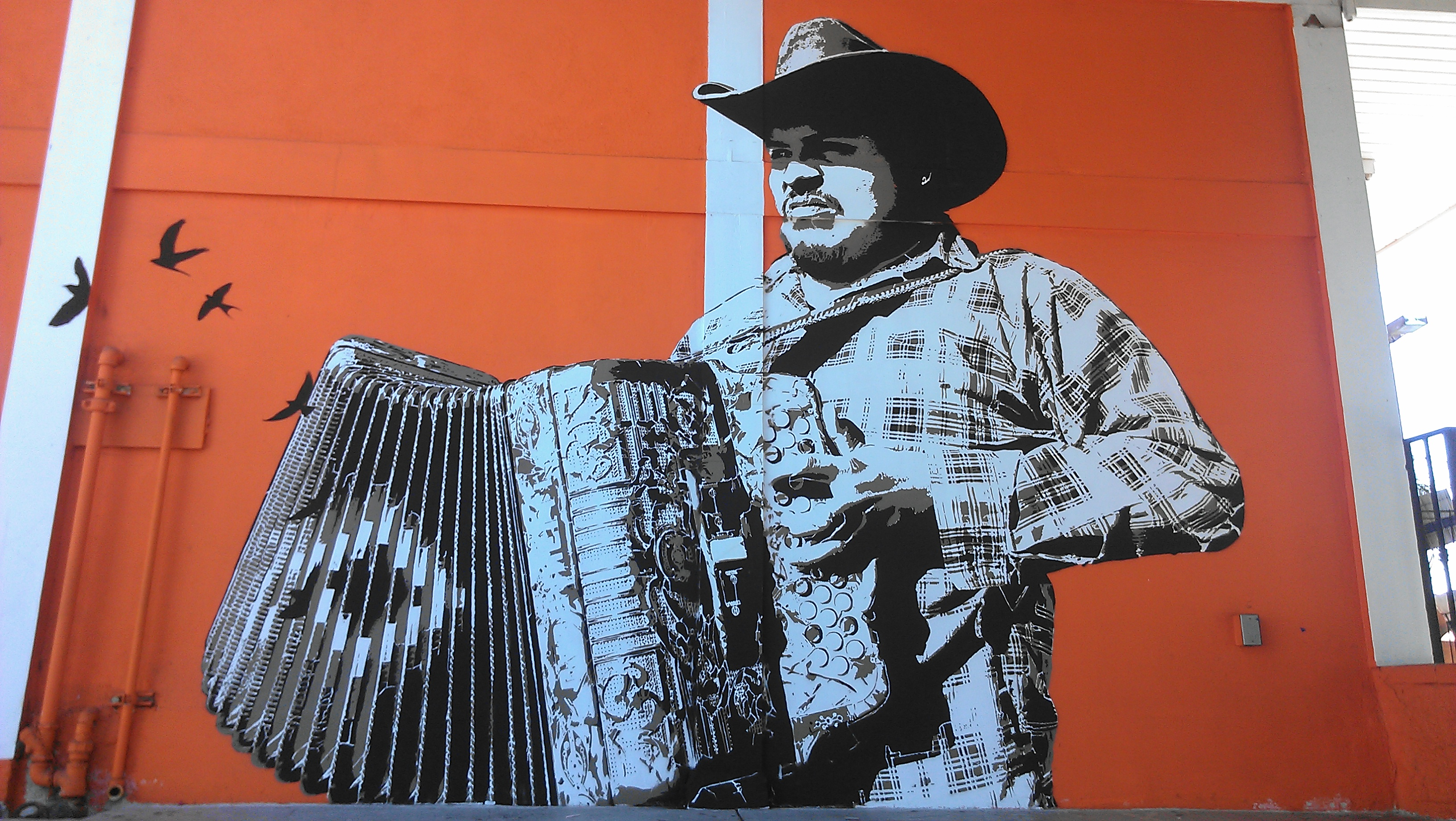 Oaxacan street artists bring mexican muralism to los for Arte colectivo mural