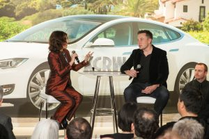 Frances Anderton interviews Elon Musk