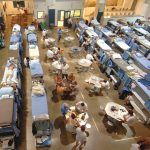 n 2006, California prisons were forced to house inmates using double and triple bunking in gyms and day rooms. Since then, overcrowding has been reduced by 43,000 inmates, from 200 to 150 percent of capacity. Photo: California Department of Corrections