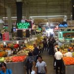 Grand Central Market, with its' massive main floor, food stalls and distinctive neon signs, has been a crossroads of L.A. commerce and community since it first opened in 1917. Food fads have come and gone, but the Market remains.  (Photo by Saul Gonzalez)