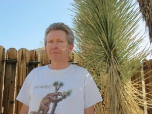 Brendan Cummings, an attorney with the Center for Biological Diversity and a Joshua Tree resident, helped push for the bill to ban bobcat trapping around natural areas in California, including around Joshua Tree National Park. Photo by: Susan Valot