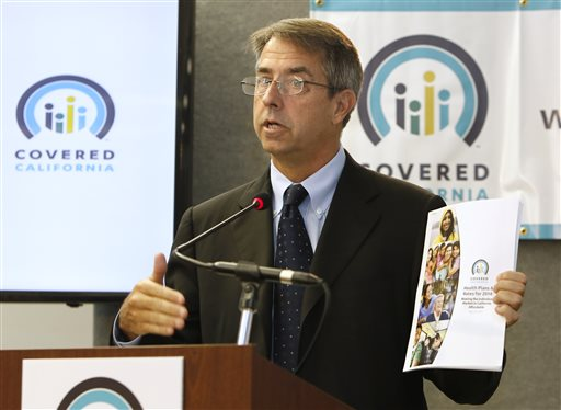 Peter Lee, executive director of Covered California. (AP Photo/Rich Pedroncelli)