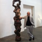 Herb Alpert and one of his totems