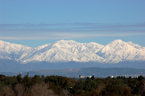 San Gabriel Mountain (Courtesy by flickr/jcookfisher)