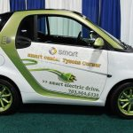 An electric car (Courtesy: flckr/mariordo59)