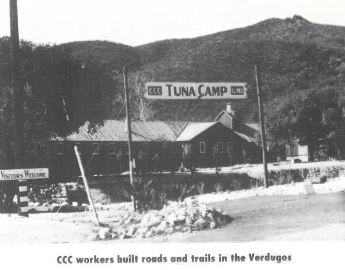 View of Tuna Canyon, c. 1934. Courtesy of Little Landers Historical Society at Bolton Hall Museum