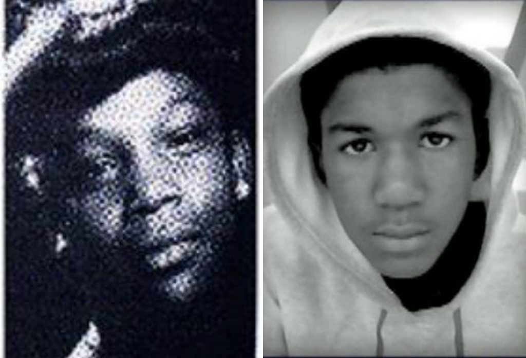 (L) Latasha Harlins (R) Trayvon Martin