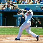 Yasiel Puig at bat. Photo by kla4067/ Creative Commons/ Flickr