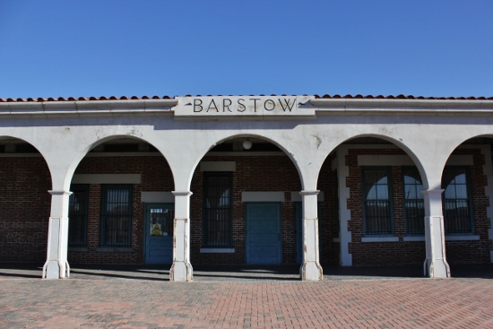 The Barstow train station.(Photo: Carolina Miranda)