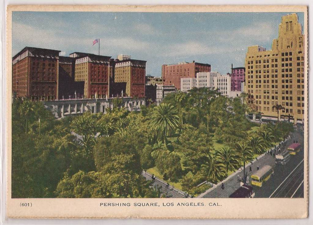 Biltmore and lush trees aerial PC 1929