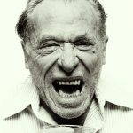 Charles Bukowski, 1981. Photo by Mark Hanauer.