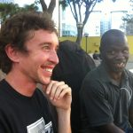 Kemal and Amos in Pershing Square