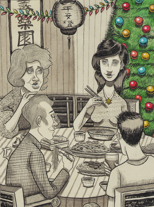 Jewish_art_will_deutsch_Jews_eating_chinese_food_on_christmas