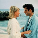 Danny and Sandy on the beach in Grease.