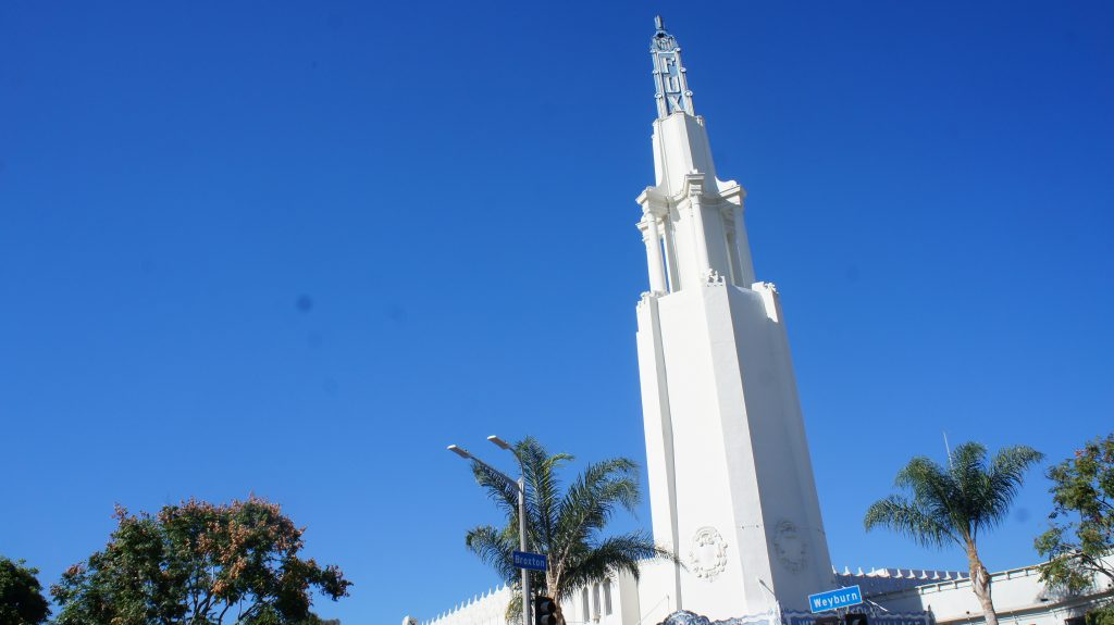 Westwood Village's popularity was long-powered by people going to its landmark  movie theaters like the Fox and Bruin. At it's height, Westwood had 18 movie screens and was the scene of countless premieres. In 2013, only three movie theaters in the Village are still open. (Photo Saul Gonzalez)