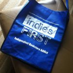 This bag was distributed at the Miami Book Fair this past weekend to get buyers in the mood