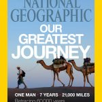The December cover of National Geographic.