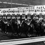 Welcome to Hollywood Park. (Photo: Courtesy Los Angeles Public Libary)